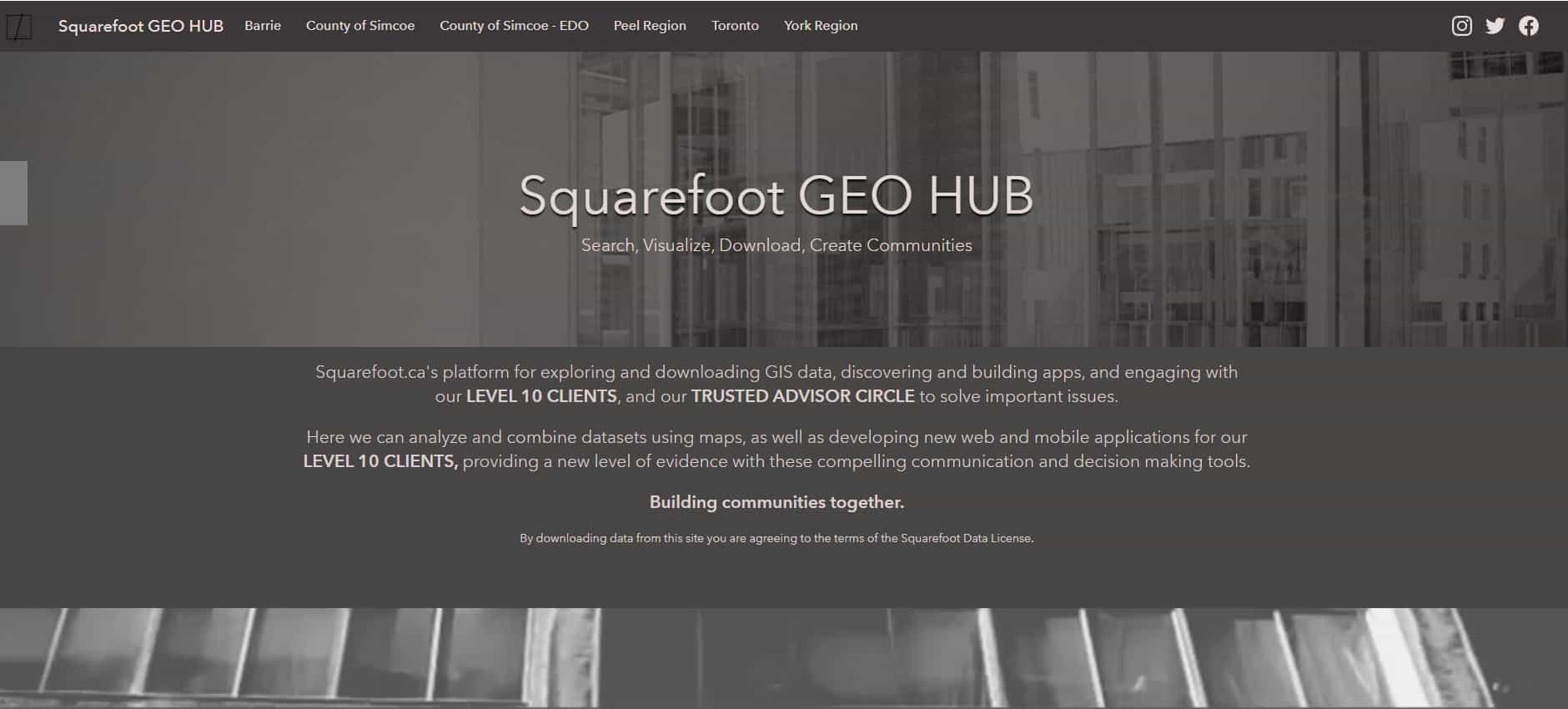 Squarefoot Geo Hub